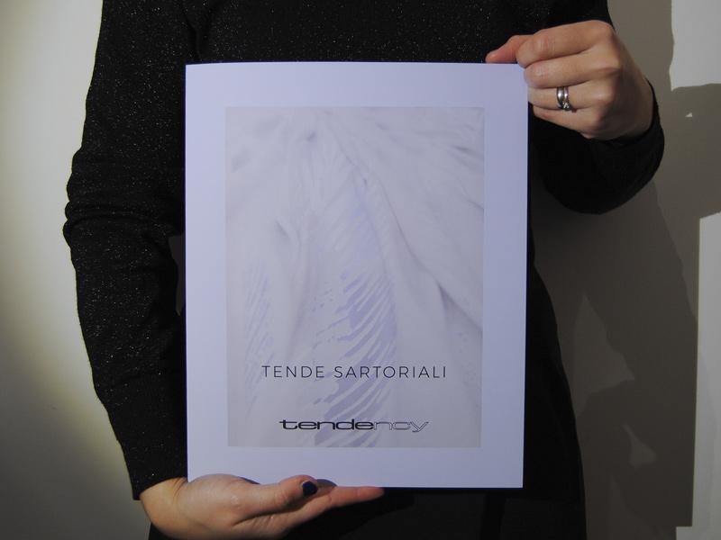 copertina catalogo di tende sartoriali